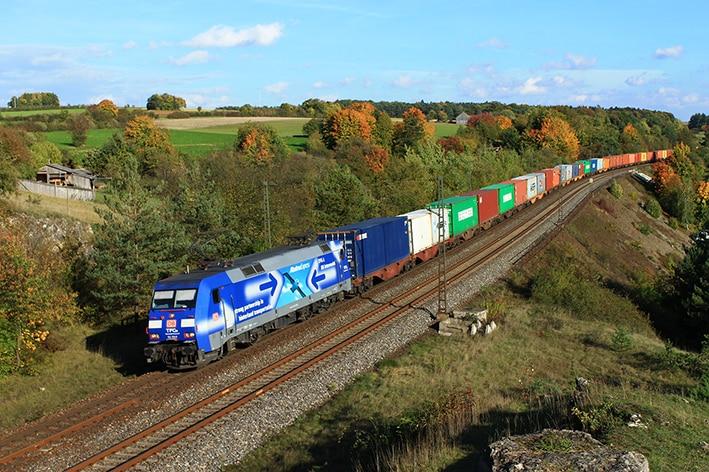 Rail transport Rotterdam-Bavaria surges